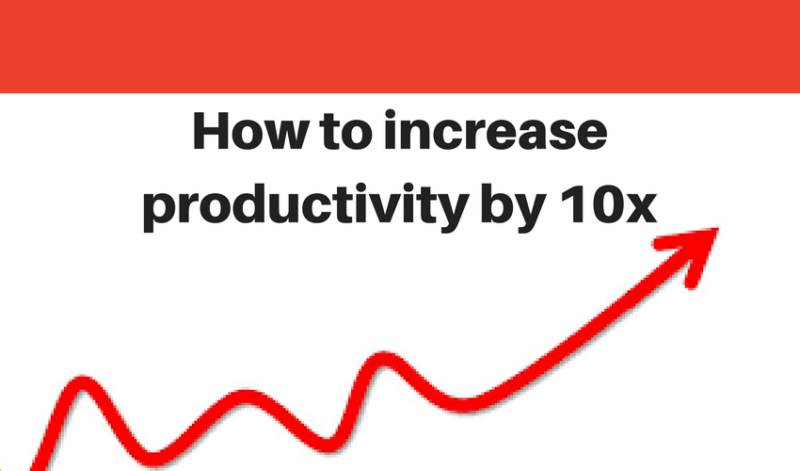 Increase Extraction Productivity