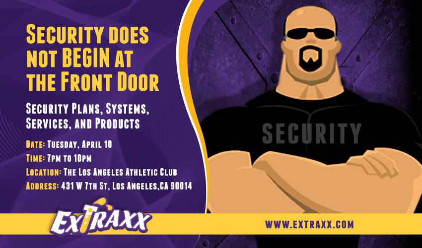 Next Event! Focus on Security!